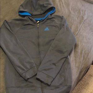 Never worn gray Adidas hoodie!